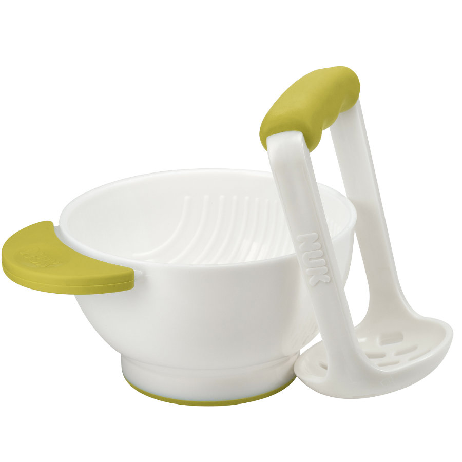 NUK Fresh Foods Masher & Bowl, pistachio