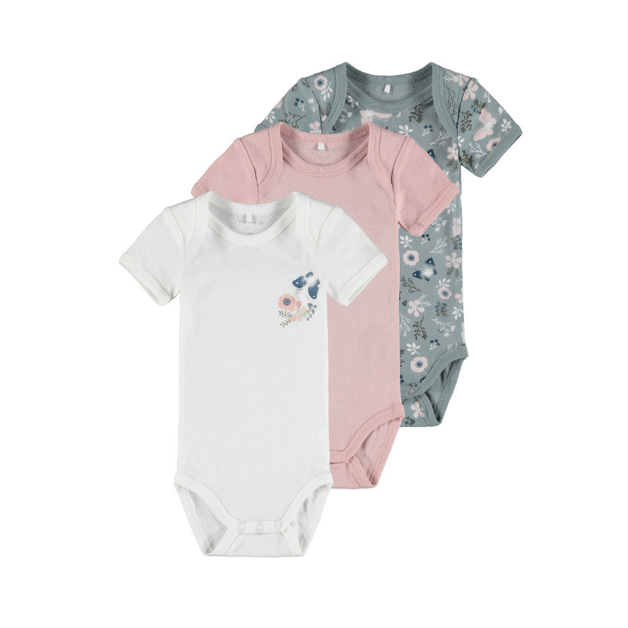 name it Body 3er Pack Pale Mauve