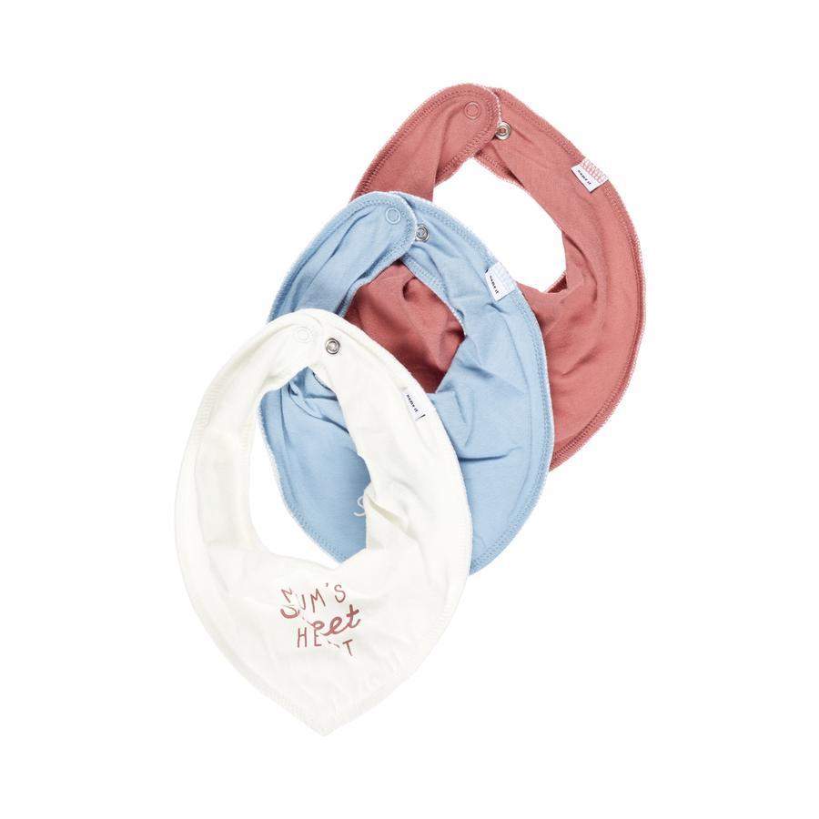 name it Driehoekige sjaals 3-pack NBFYVETTETIKA Dusty Blauw