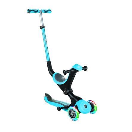 GLOBBER Scoot er GO UP Deluxe lys s, himmelblå