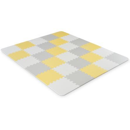 Kinderkraft Luno Schaumstoff Puzzlematte, gelb