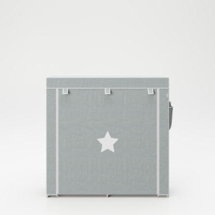 Textil-Aufbewahrungsschrank XL Little Stars 113 x 28 x 108 cm