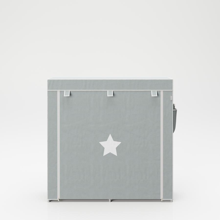 Tekstil oppbevaringsskap XL Little Stars 113 x 28 x 90 cm