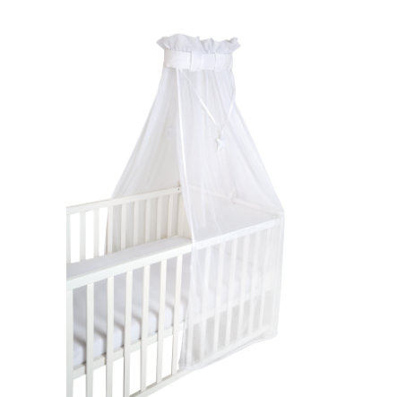 roba Ciel de lit enfant safe asleep uni, blanc mesh