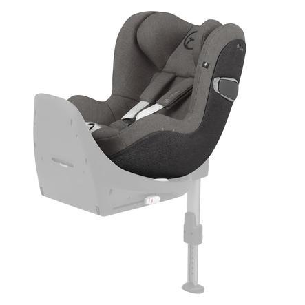 cybex PLATINUM Kindersitz Sirona Z i-Size Plus Soho Grey