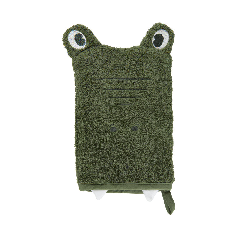 Pippi Gant de lavage lichen profond green