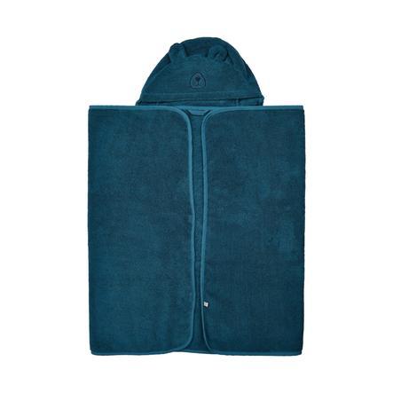 Pippi Badhanddoek met kap ijsblauw 70 x 120 cm