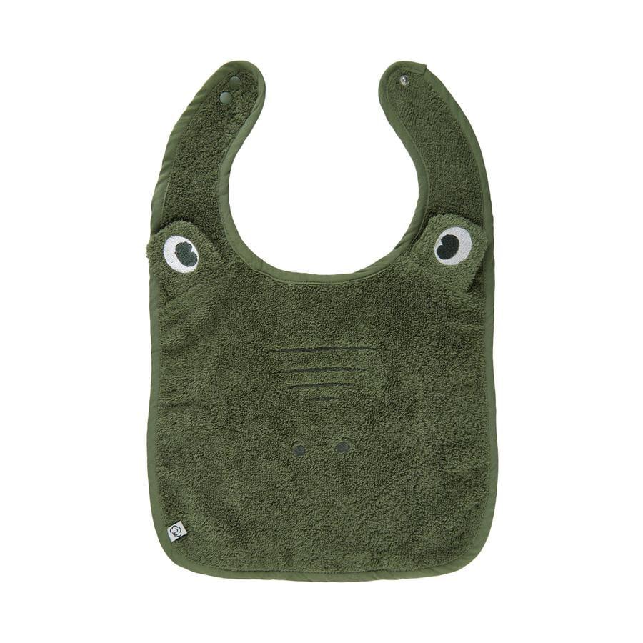 Pippi Frottee Lätzchen Deep Lichen Green