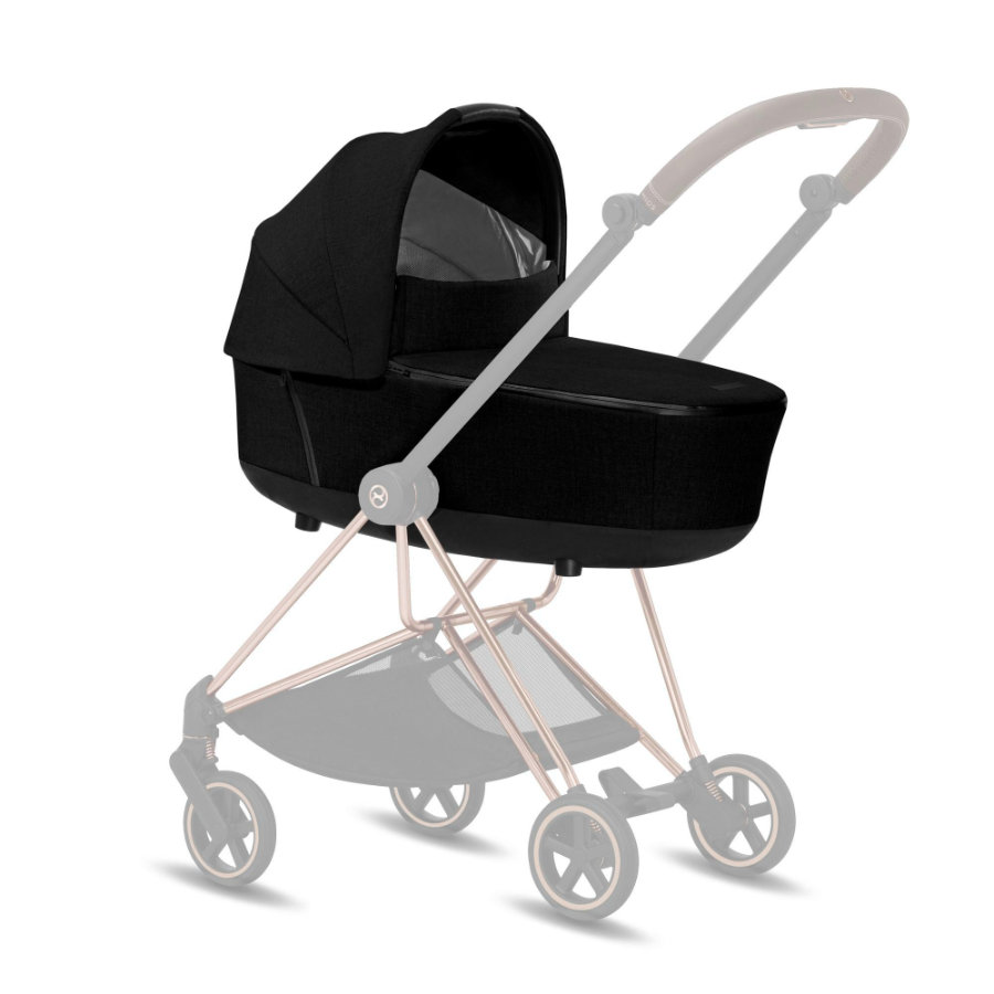 cybex PLATINUM Kinderwagenaufsatz Mios Lux Carry Cot Stardust Black Plus