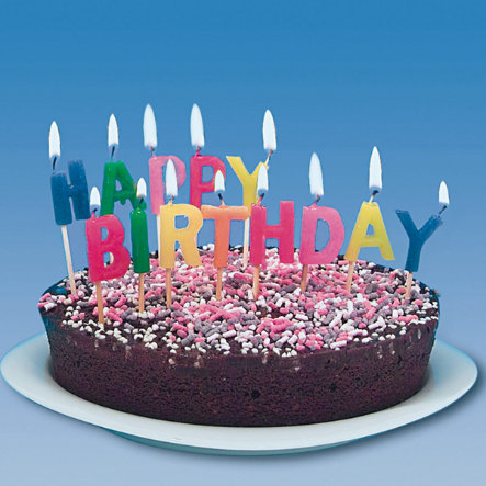 """HAPPY PEOPLE Ljusset """"Happy Birthday"""""""