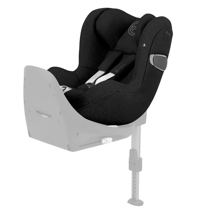 cybex PLATINUM Kindersitz Sirona Z i-Size Plus Deep Black