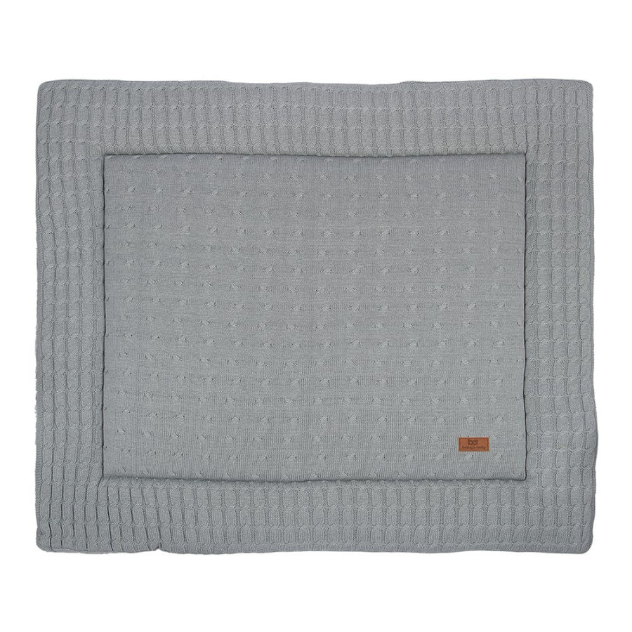 baby's only Laufgittereinlage Cable grau 75x95 cm