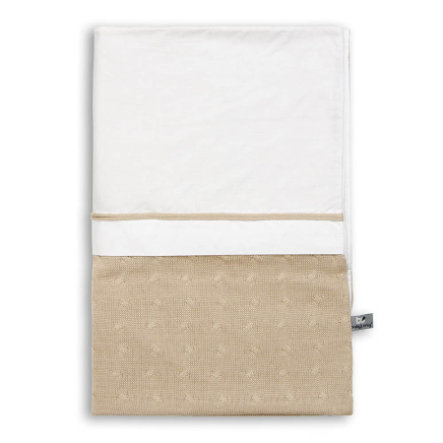 baby's only funda nórdica Cable beige 100x135 cm