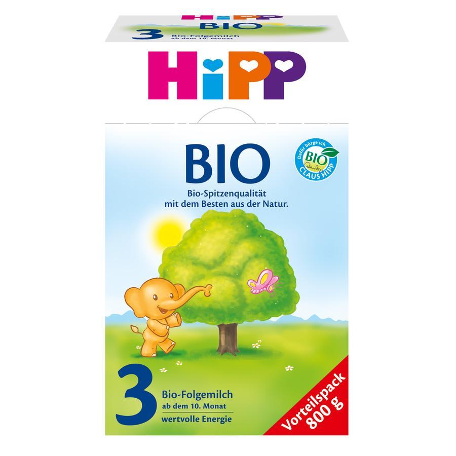 HiPP Bio-Folgemilch 3 ab dem 10. Monat 800 g