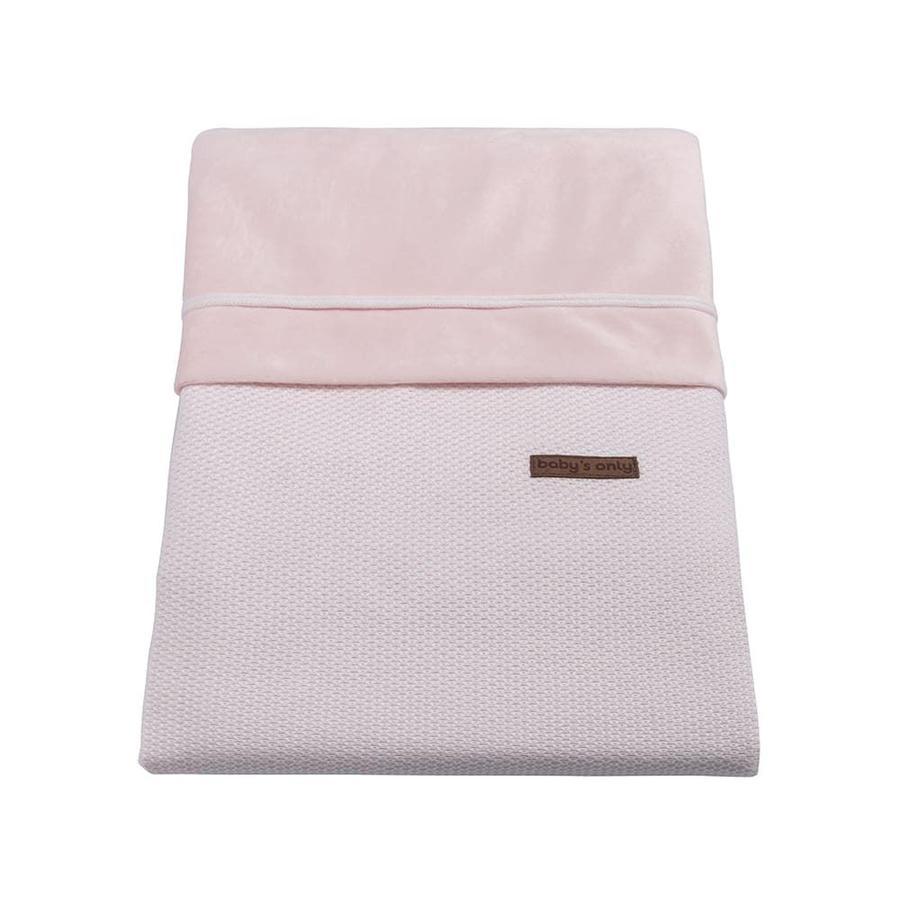 baby's only Bettbezug Classic klassisch rosa 80x80 cm
