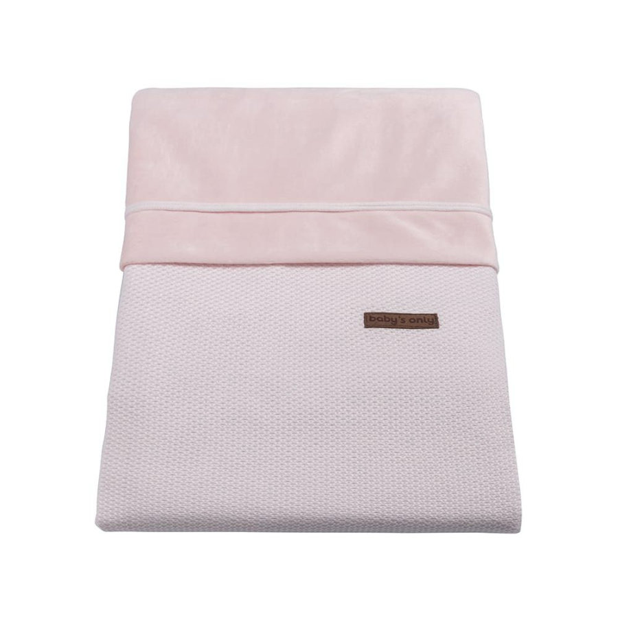 baby's only dekbedovertrek Class ic classic roze 100x135 cm