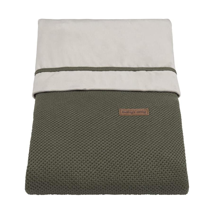 baby's only Bettbezug Classic khaki 100x135 cm