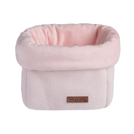 baby's only förvaringskorg Klass ic klassisk rosa