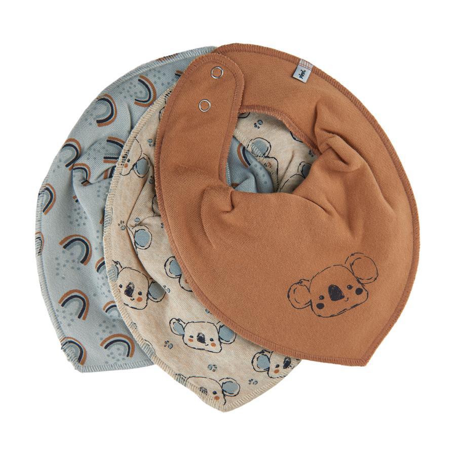 Pippi Bandana 3er Pack sandshell