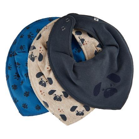 Pippi Bandana 3er Pack vallarta blue