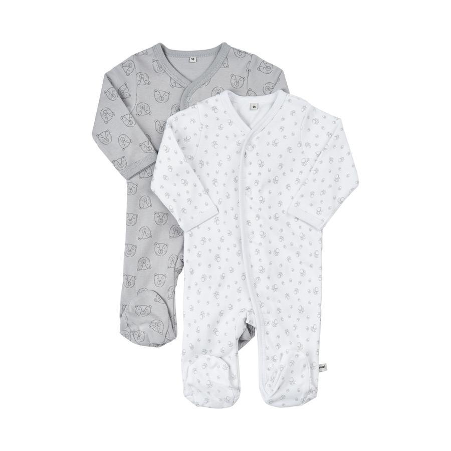 Pippi Schlafanzug mit Beinen 2er-Pack habor mist