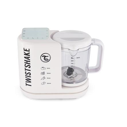 Twist shake  6 in 1 babyvoeding warmer in het wit