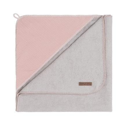 Baby's only badehåndnusseklud med hætte Breeze old pink 75x85 cm