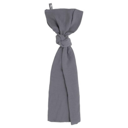 baby's only Swaddle Breeze antracyt 120x120 cm