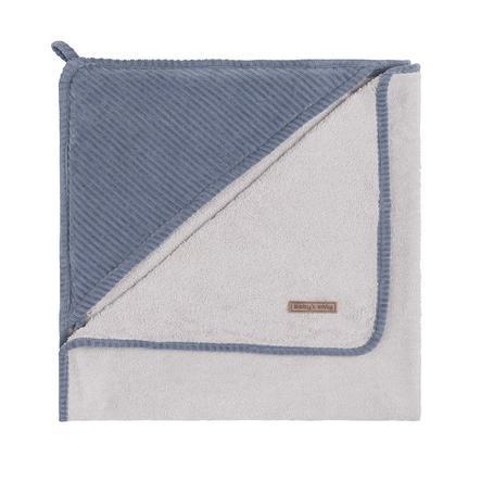 Baby's Only badehåndkle med hette Sense vintage blå 75x85 cm