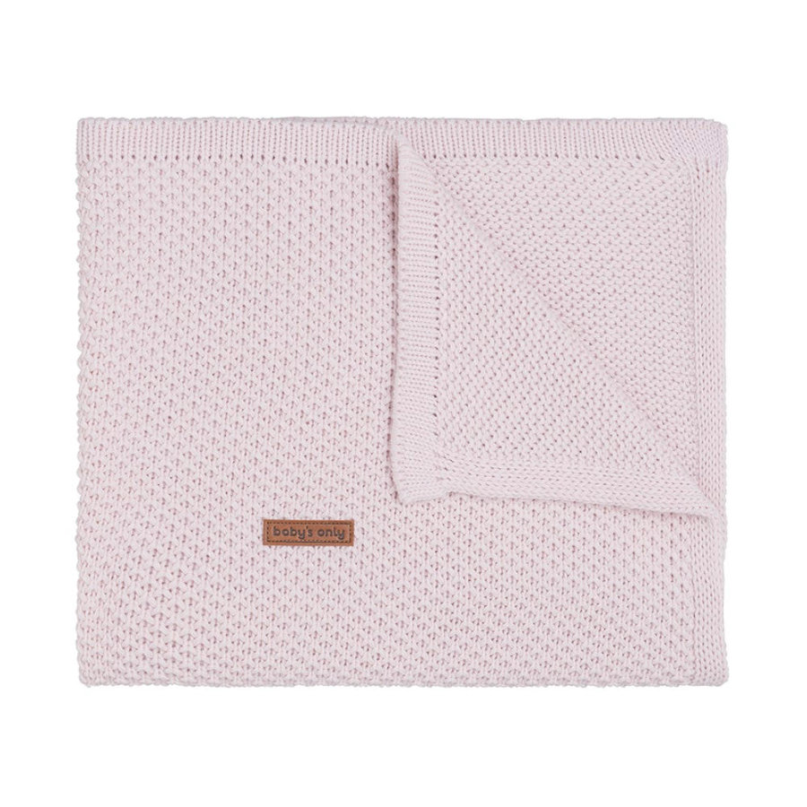 Baby's only baby tæppe Smag klassisk lyserød 70x95 cm