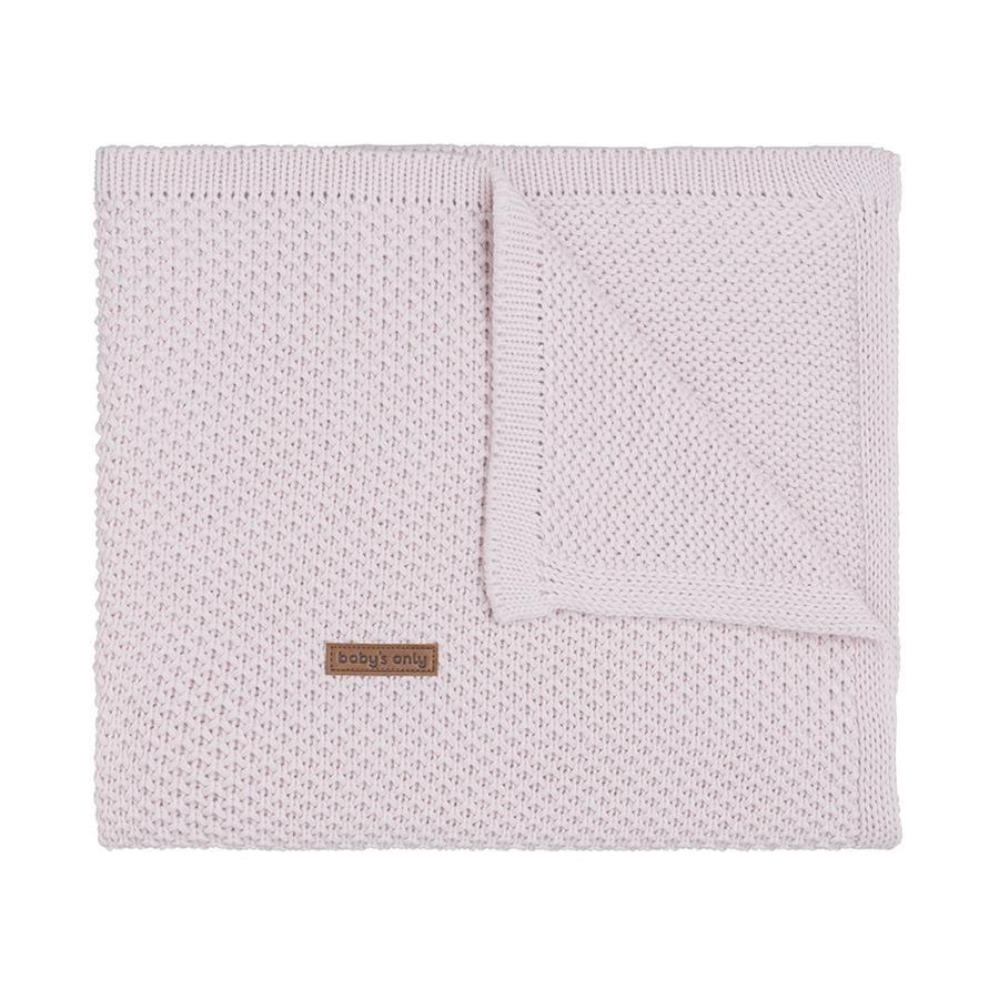 baby's only Babydecke Flavor klassisch rosa 70x95 cm