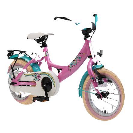 """""""bikestar premium safety barnesykkel 12 """"""""klasse ic, rosa"""""""