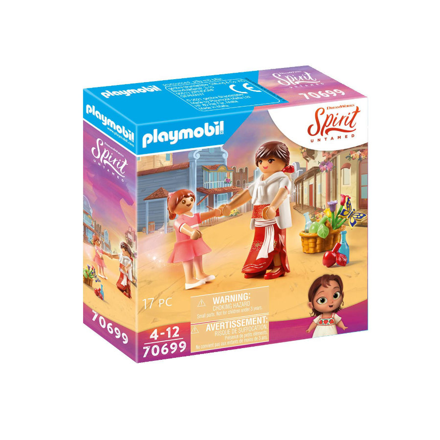 PLAYMOBIL  ® Little Lucky & Mama Milagro 70699