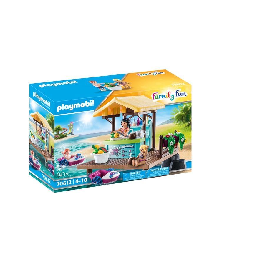 PLAYMOBIL ® Family Fun Paddle Boat Rental med Juice Bar 70612
