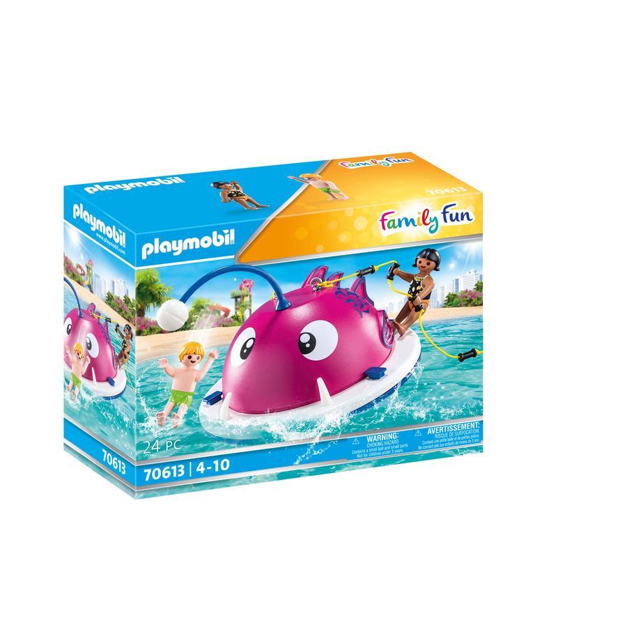 PLAYMOBIL® Family Fun Kletter-Schwimminsel 70613