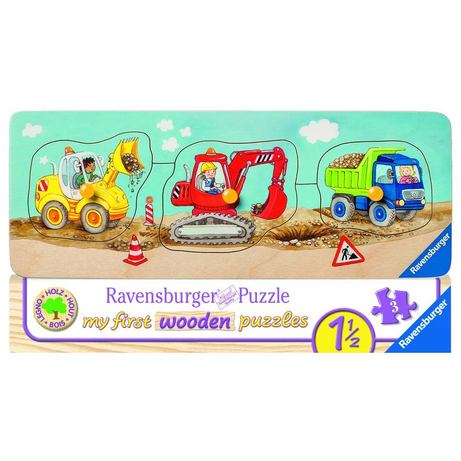 Ravensburger My first wooden puzzle - Die kleine Baustelle