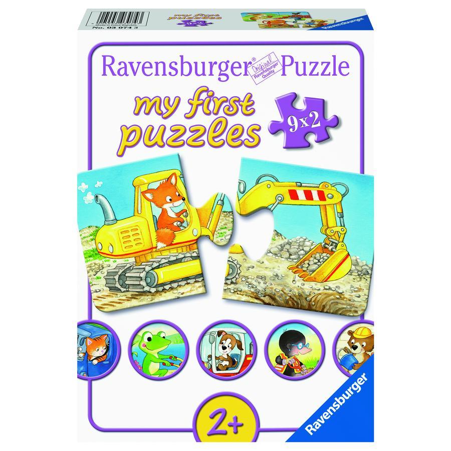 Ravensburger Puzzle - Tierische Baustelle