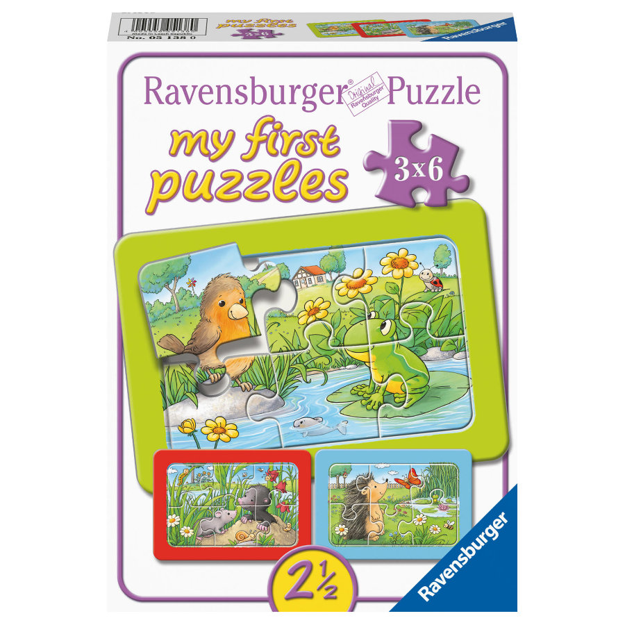 Ravensburger Petits animaux de jardin