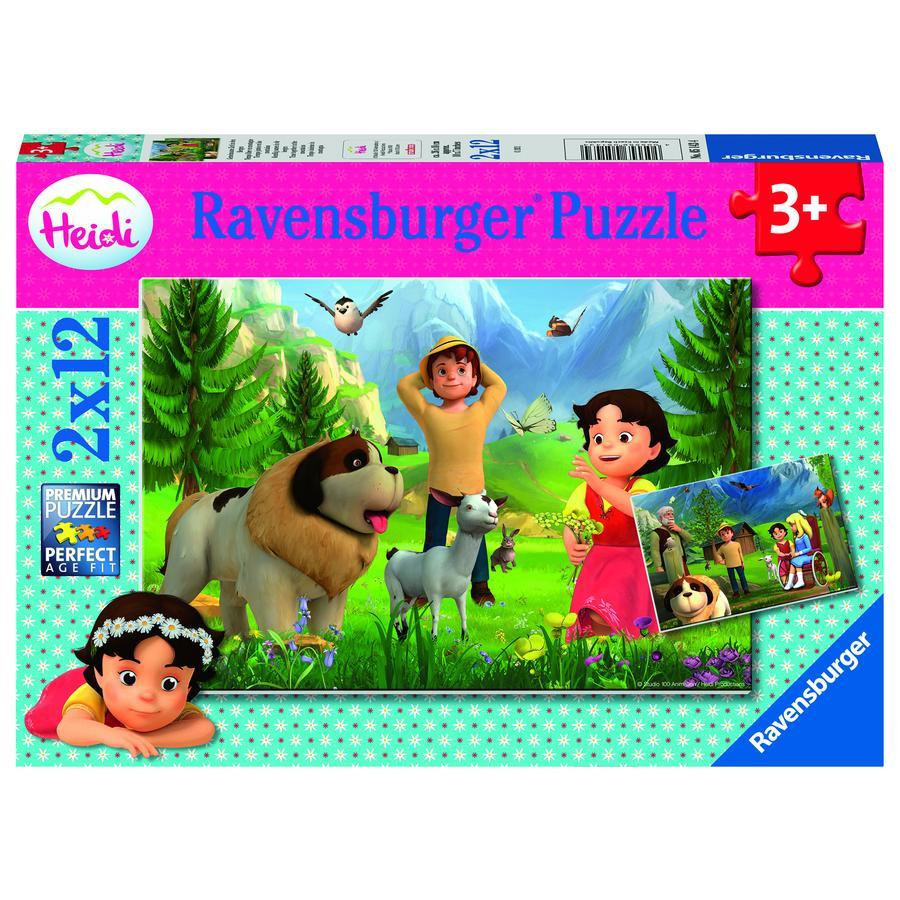 Ravensburger Heidi: Tid sammen i fjellet