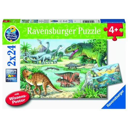 Ravensburger WWW: Dinosaurussen en hun leefgebieden