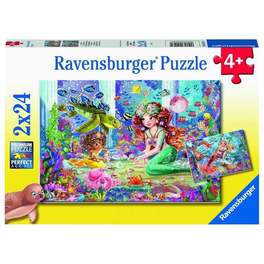 Ravensburger Puzzle - Zauberhafte Meerjungfrauen