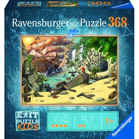 Ravensburger - Het piraten avontuur 368 stukjes puzzel