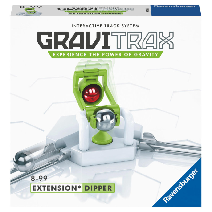 Ravensburger GraviTrax Kugelbahn - Erweiterung Action-Stein Dipper