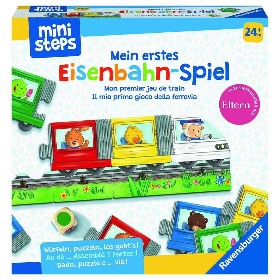 Ravensburger mini steps ® Mon premier jeu ferroviaire