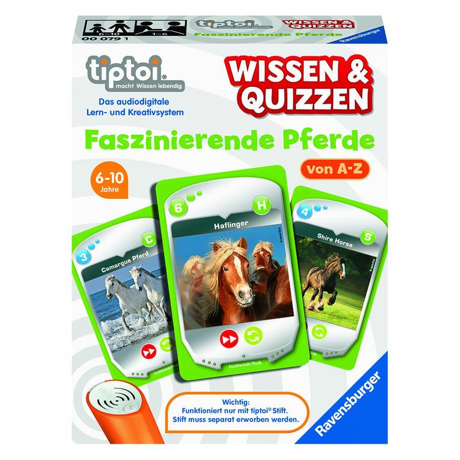 Ravensburger tiptoi® Faszinierende Pferde
