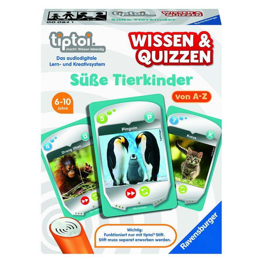 Ravensburger tiptoi® Süße Tierkinder
