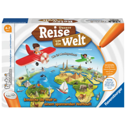 Ravensburger tiptoi® Notre voyage autour du monde
