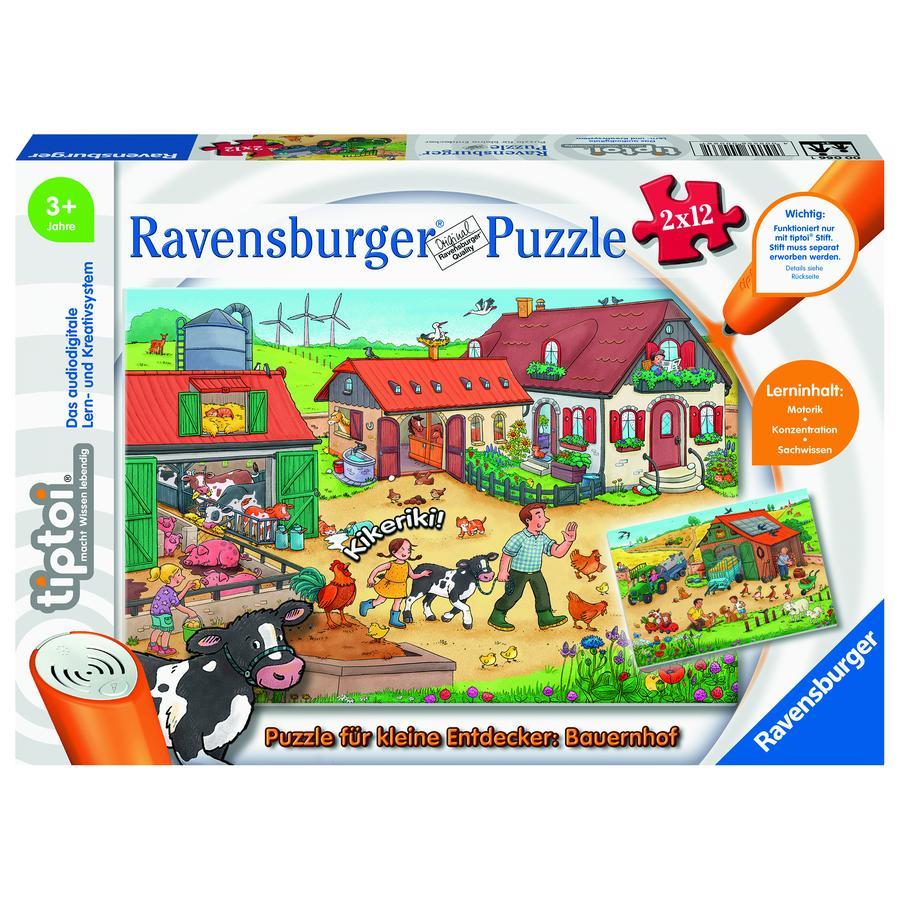 Ravensburger tiptoi® Puzzle für kleine Entdecker: Bauernhof