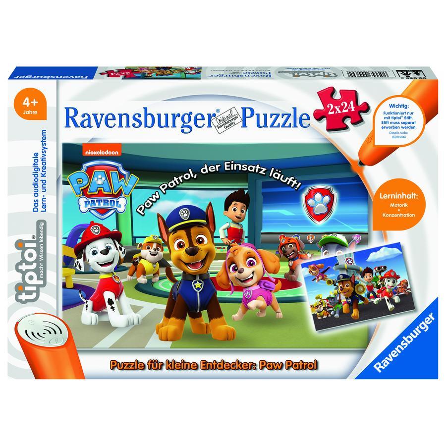 Ravensburger tiptoi® Puzzle per piccoli esploratori: Paw Patrol