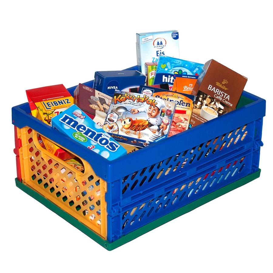 Tanner - Der kleine Kaufmann - Mini Klapp Box, gefüllt